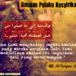 Allah Ta'ala Tidak Pernah Ridha dengan Kemusyrikan