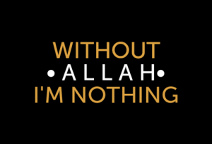 without Allah